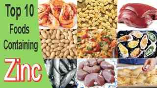 Interesting Top 10 Foods Containing Zinc