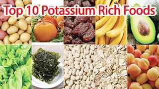 List of Top 10 Potassium Rich Foods